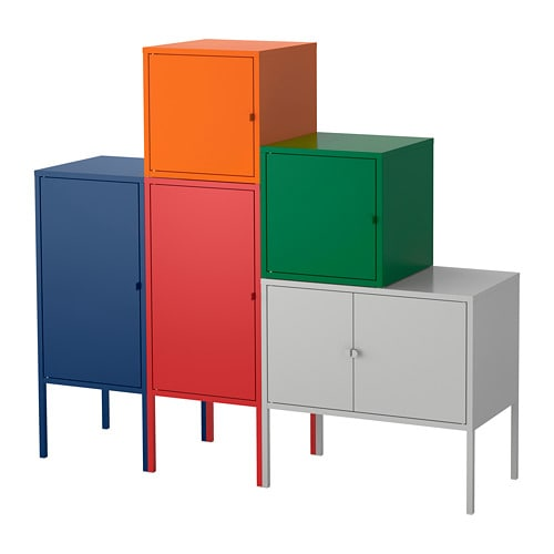 Lixhult combinaci n de armario y estanter a ikea - Ikea muebles modulares ...