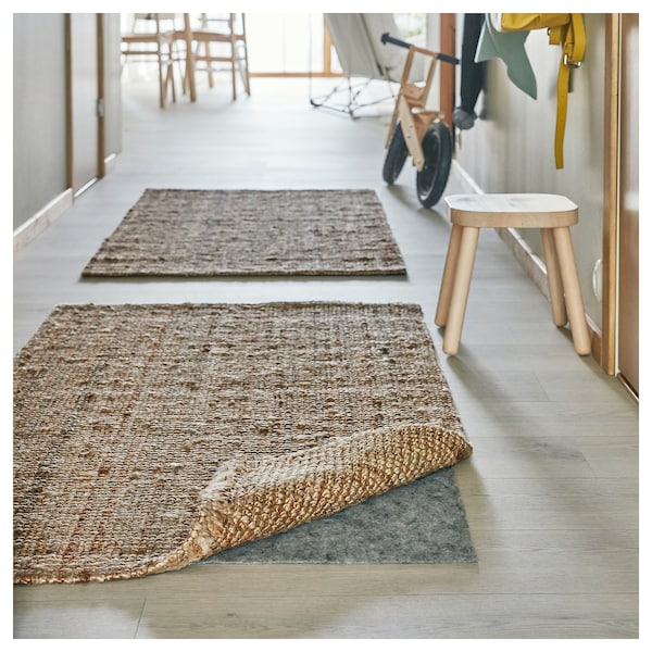 LOHALS alfombra natural 150 cm 80 cm 13 mm 1.20 m² 3200 g/m²