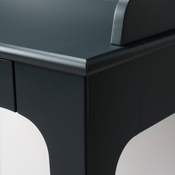 LOMMARP Escritorio, azul oscuro verdoso, 90x54 cm