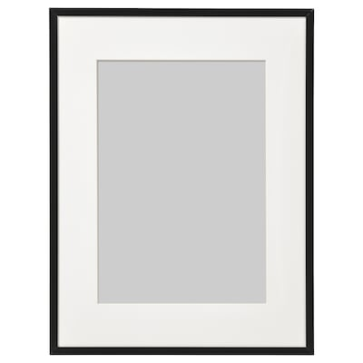 LOMVIKEN Marco, negro, 30x40 cm