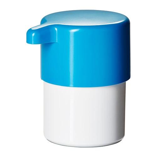 LOSJÖN Dispensador de jabón, blanco/azul - Últimas unidades en IKEA Barakaldo
