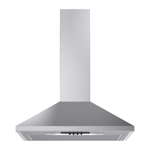 LUFTIG N  - Wall extractor, stainless steel
