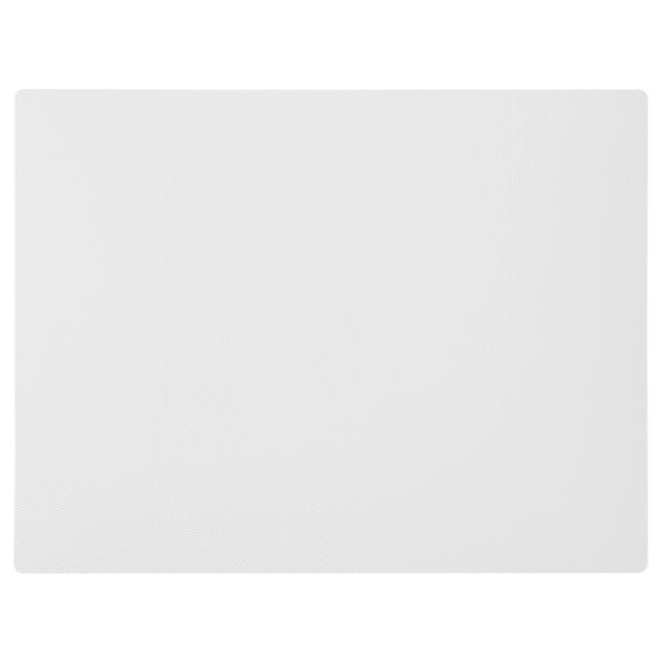 LURVIG Alfombrilla para cuenco, gris claro, 28x36 cm