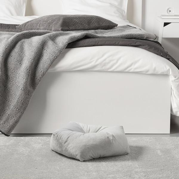 LURVIG Puf, gris claro, 53x15 cm