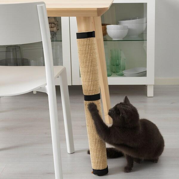LURVIG rascador gato / arañador natural 63 cm 25 cm