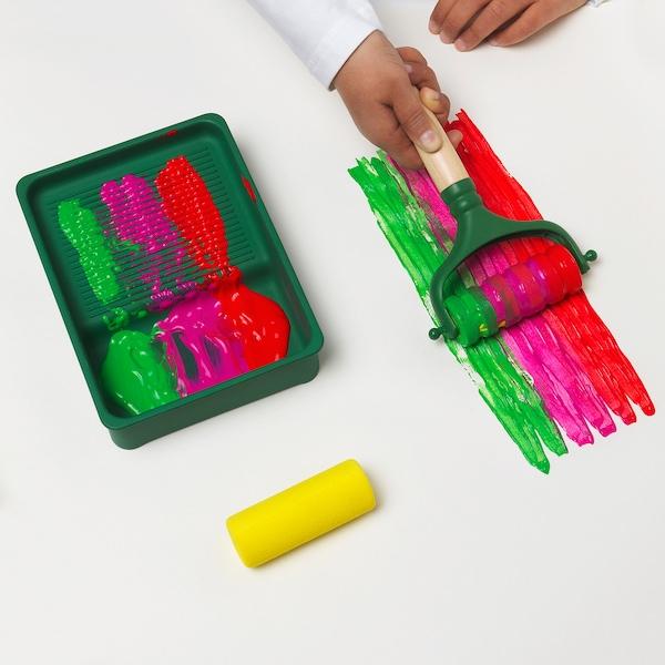 IKEA LUSTIGT Rodillo pintura jgo4