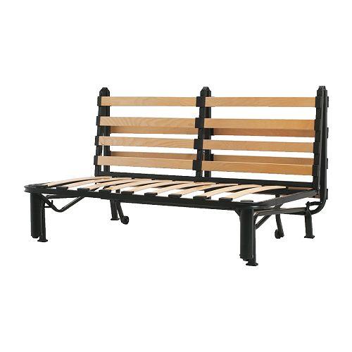 Lycksele estructura sof cama 2 plazas ikea for Futon de 2 plazas