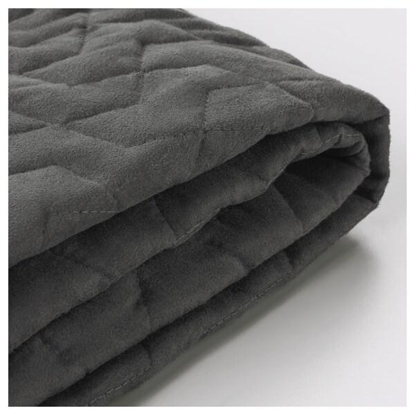LYCKSELE Funda para sofá cama 2 plazas, Vallarum gris