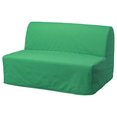 LYCKSELE HÅVET Sofá cama de 2 plazas, Vansbro verde vivo