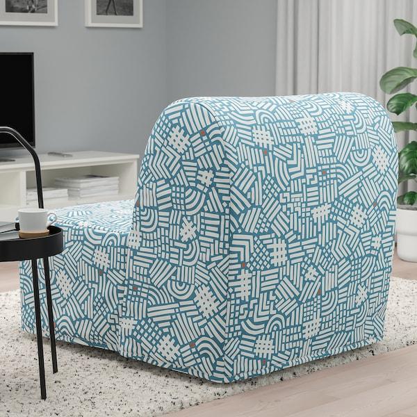 LYCKSELE LÖVÅS Sillón cama, Tutstad multicolor