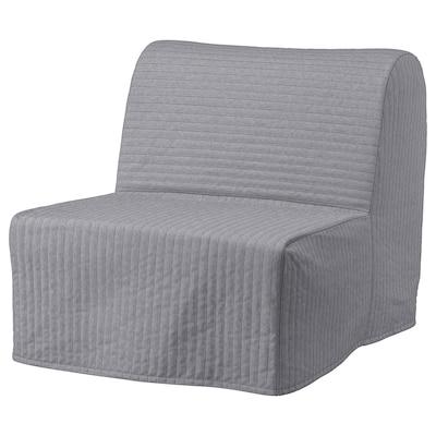 LYCKSELE MURBO Sillón cama, Knisa gris claro