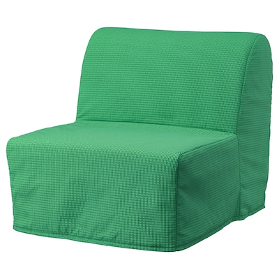 LYCKSELE MURBO Sillón cama, Vansbro verde vivo
