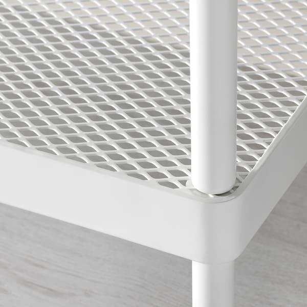 MACKAPÄR Estante zapatero, blanco, 78 cm