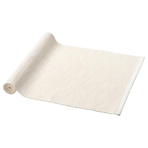 MÄRIT camino de mesa natural 130 cm 35 cm