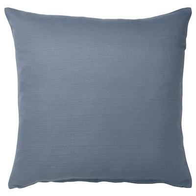 MAJBRÄKEN Funda de cojín, azul grisáceo, 50x50 cm