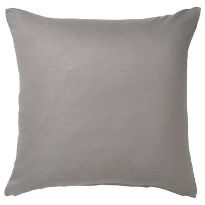MAJBRÄKEN Funda de cojín, gris, 50x50 cm