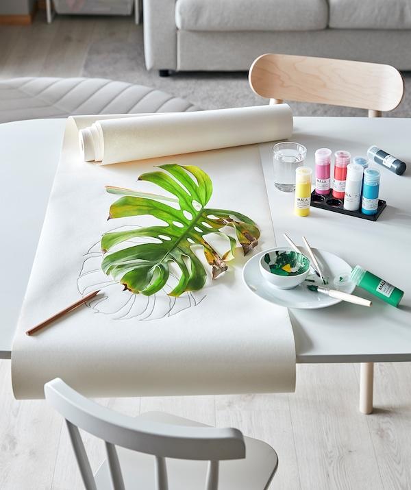 MÅLA pintura colores variados 400 ml 8 unidades