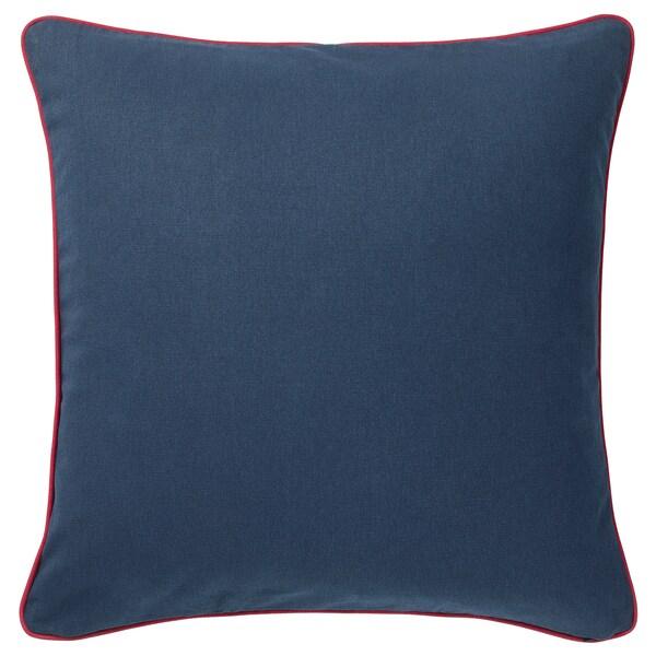 MÅLARBORSTE Funda de cojín, azul oscuro/multicolor, 50x50 cm