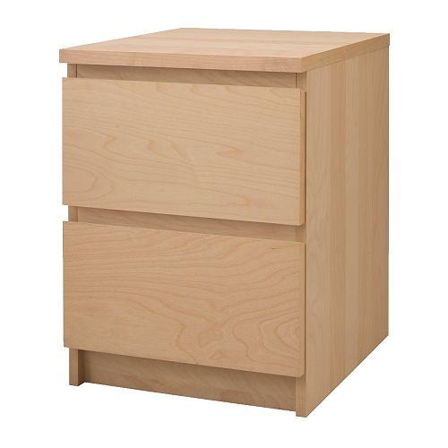 C modas para dormitorio sinfonieres cajoneras ikea - Ikea mesilla malm ...