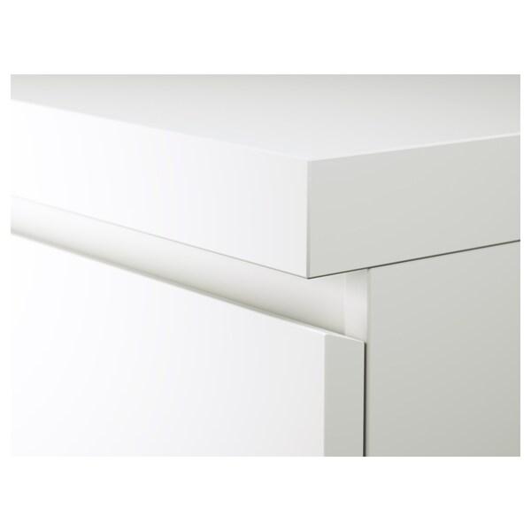 MALM Escritorio, blanco, 140x65 cm