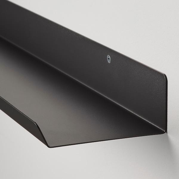 MALMBÄCK Estante exposición, gris oscuro, 60 cm