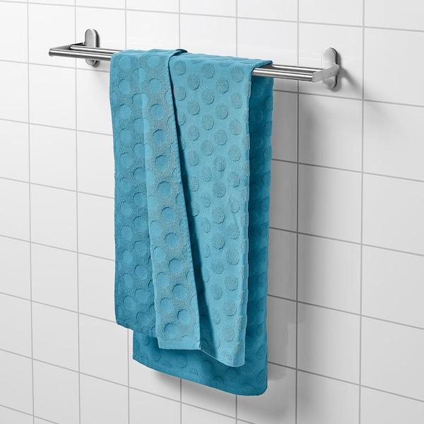 MÅLSELVA Toalla de baño, azul, 70x140 cm