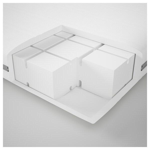 MALVIK Colchón espuma, firme/blanco, 80x200 cm