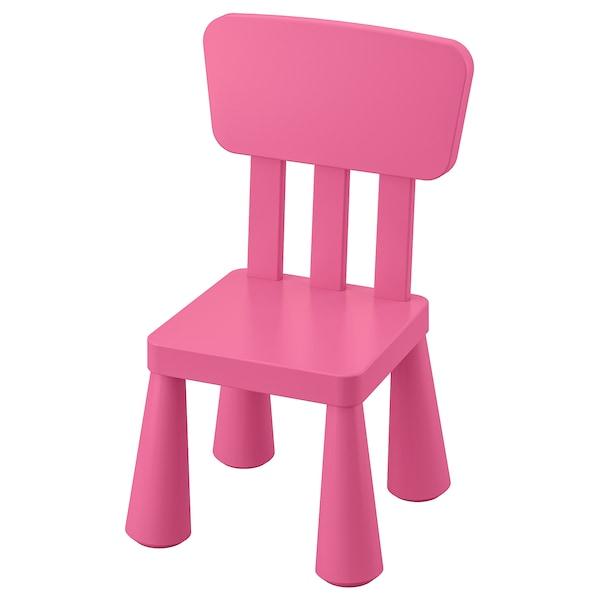 Mammut Silla Para Nino Int Ext Rosa Ikea