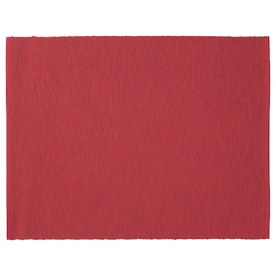 MÄRIT Mantel individual, rojo oscuro, 35x45 cm
