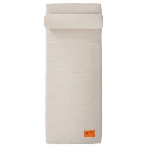 MARKERAD funda para diván beige 200 cm 80 cm