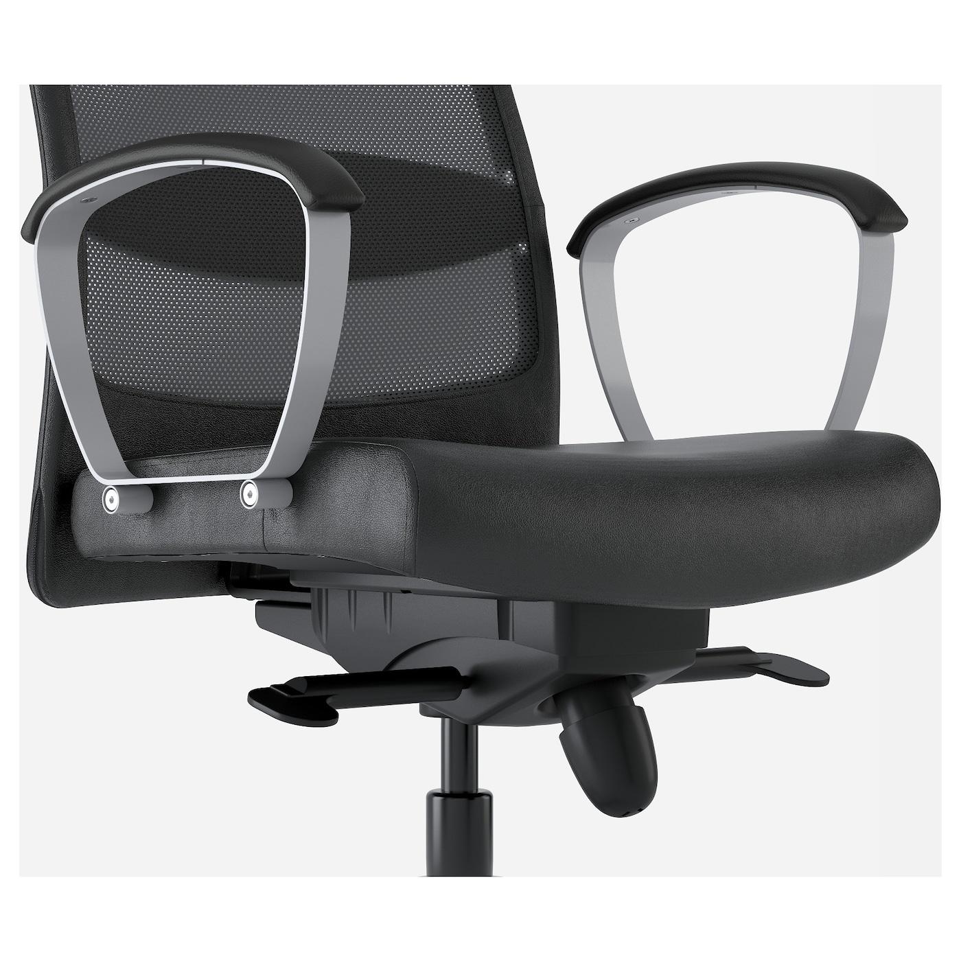 MARKUS Silla giratoria Glose negro - IKEA