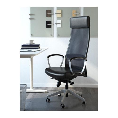 markus silla giratoria glose negro ikea. Black Bedroom Furniture Sets. Home Design Ideas