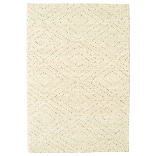 MARSTRUP Alfombra, pelo corto, beige, 160x230 cm