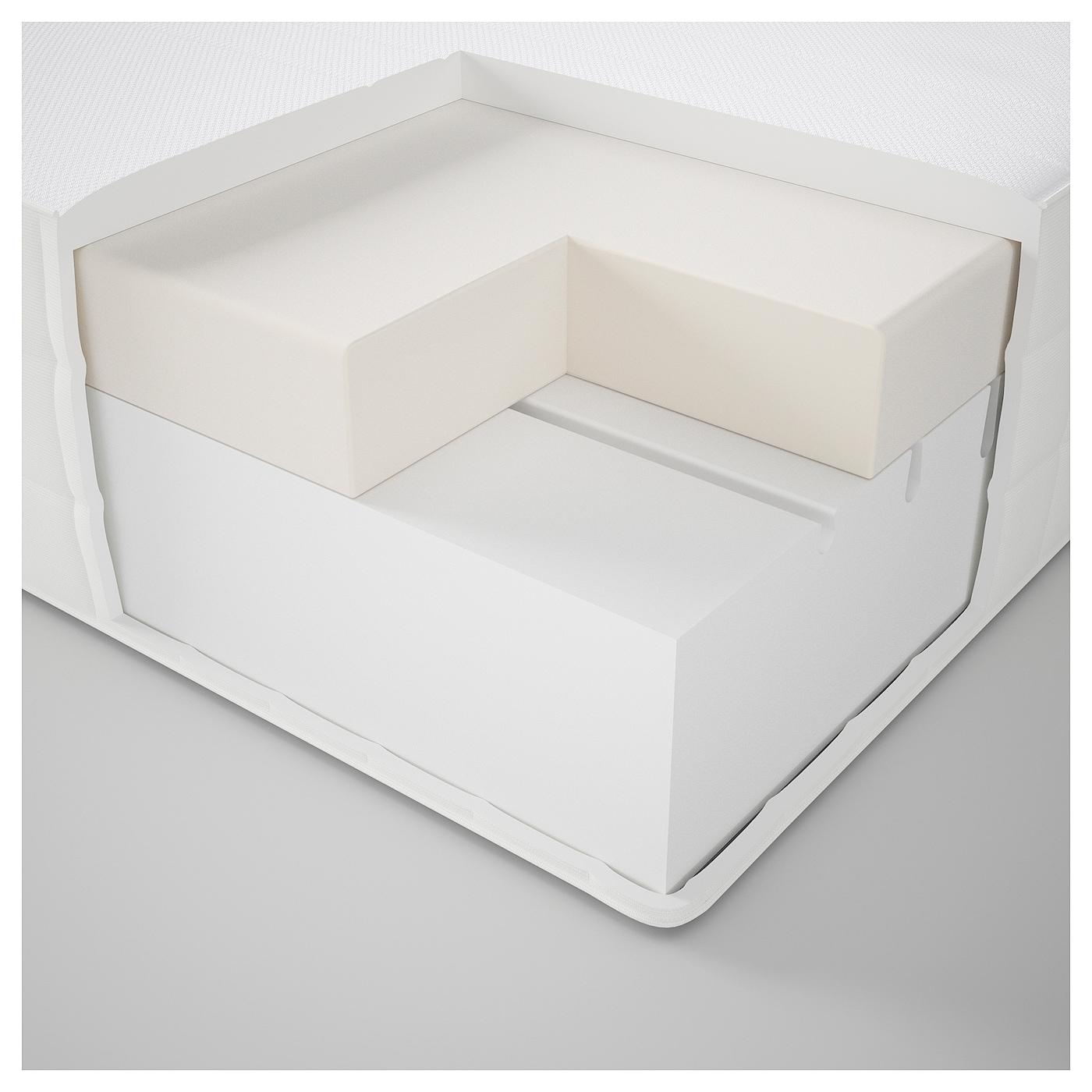 matrand colch n espuma viscoel stica firme blanco 90 x 190 cm ikea. Black Bedroom Furniture Sets. Home Design Ideas