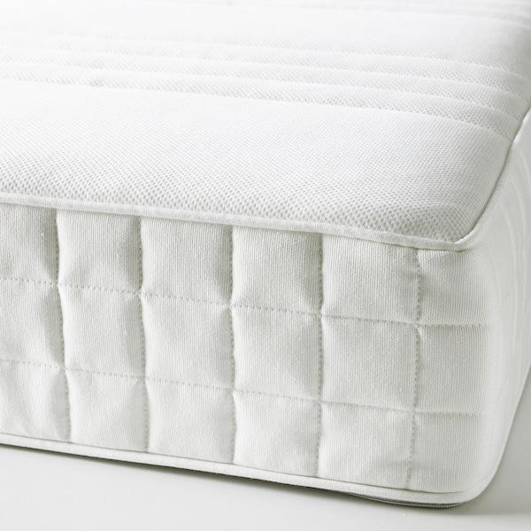 MATRAND Colchón de látex, Firmeza media/blanco, 140x200 cm