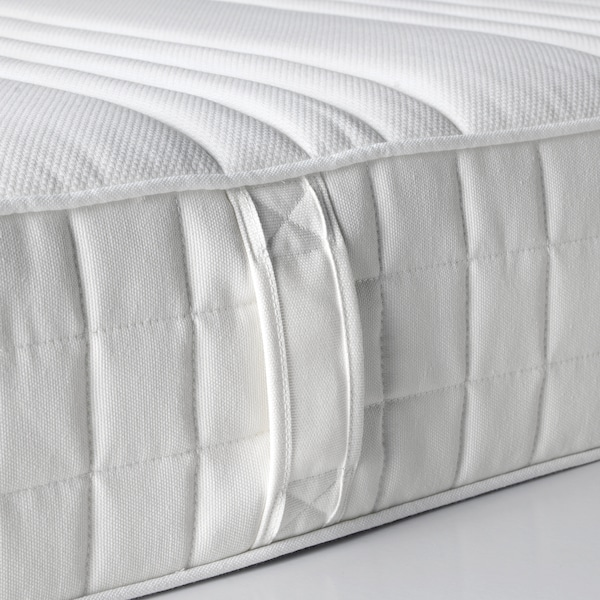 MATRAND colchón viscoelástico firme/blanco 190 cm 135 cm 18 cm