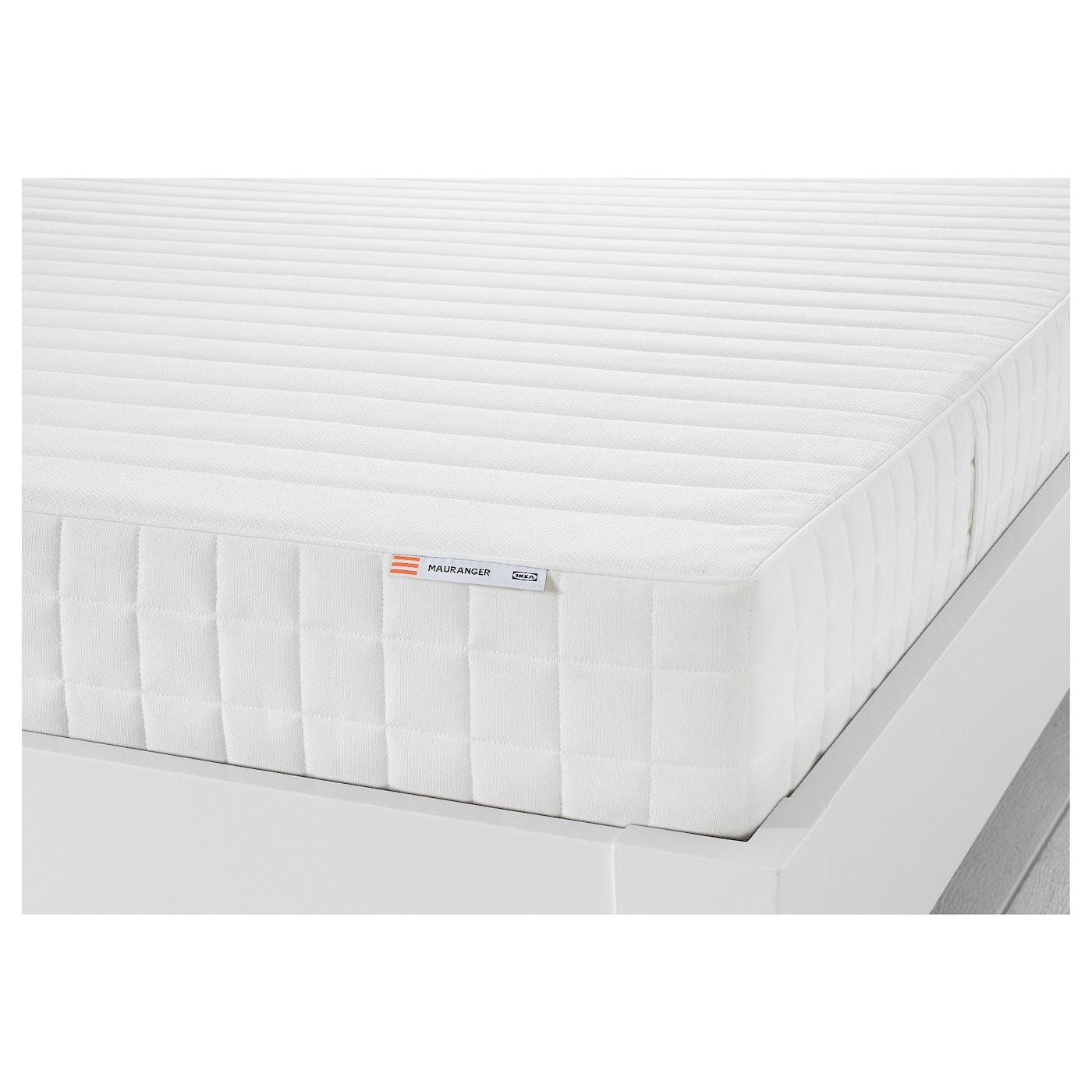 Mauranger Colchon Espuma Firme Blanco 140 X 200 Cm Ikea