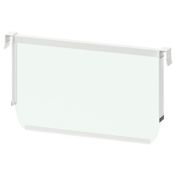 MAXIMERA Separador cjn alto, blanco/transparente, 40 cm