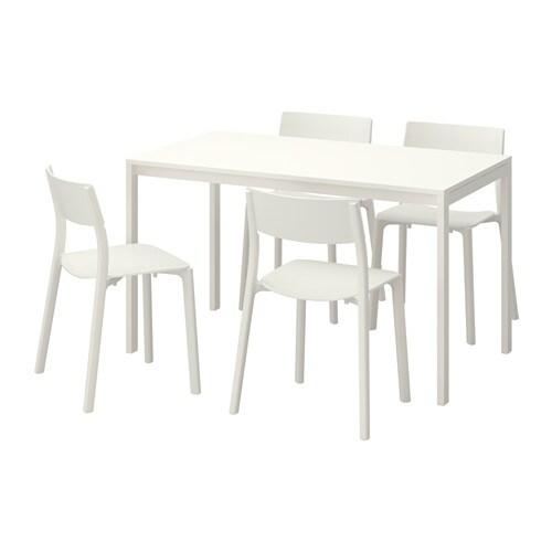 Melltorp janinge mesa con 4 sillas ikea - Sillas con reposabrazos ikea ...
