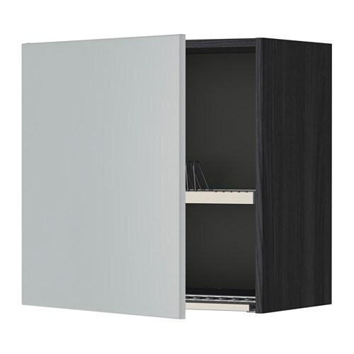Metod Ap Escrplts Efecto Madera Negro Veddinge Gris 60x60 Cm Ikea