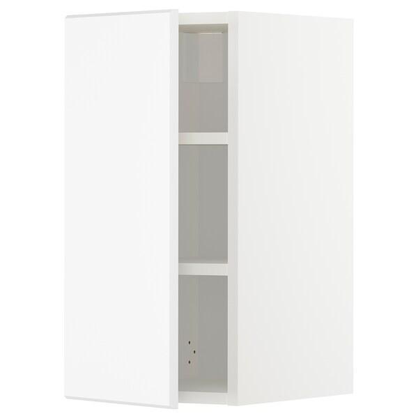 METOD Aprd+bld, blanco/Kungsbacka blanco mate, 30x60 cm