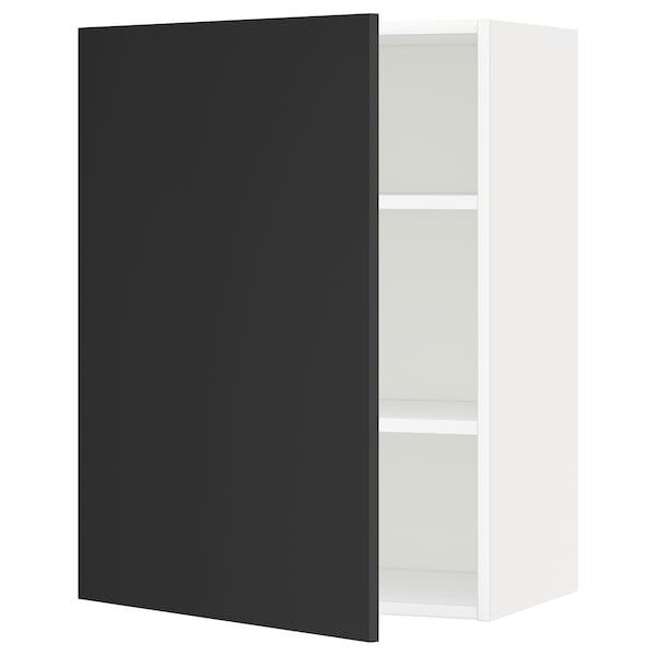 METOD Aprd+bld, blanco/Uddevalla antracita, 60x80 cm