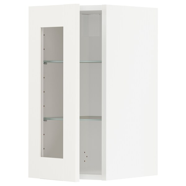 METOD Aprd+bld/ptvdr, blanco/Sävedal blanco, 30x60 cm