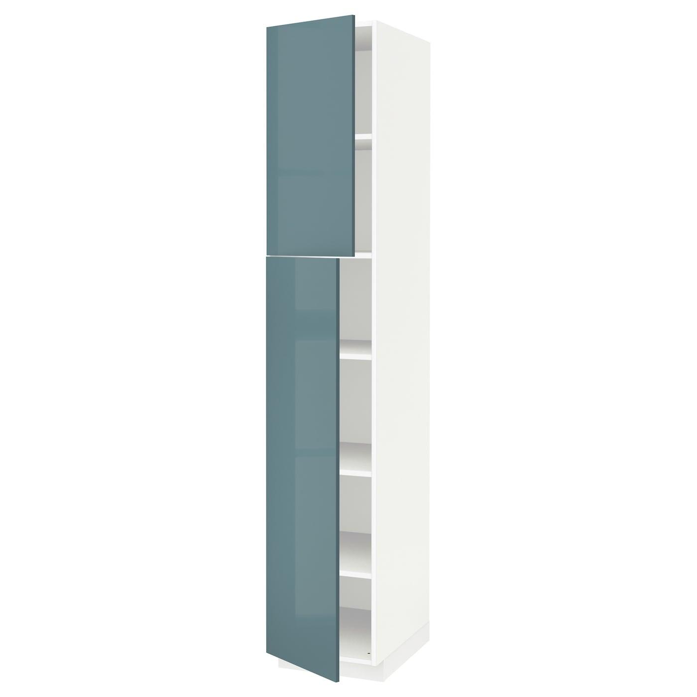 Metod armario alto cocina baldas puertas blanco kallarp - Ikea baldas cocina ...