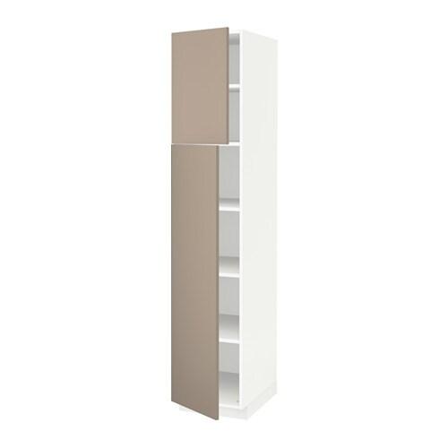 Metod armario alto cocina baldas puertas blanco ubbalt - Ikea armarios cocina ...