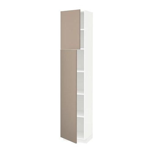 Metod armario alto cocina baldas puertas blanco ubbalt - Ikea baldas cocina ...