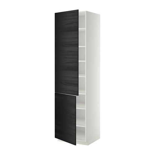 Metod armario alto cocina baldas puertas tingsryd efecto for Ikea armarios cocina altos