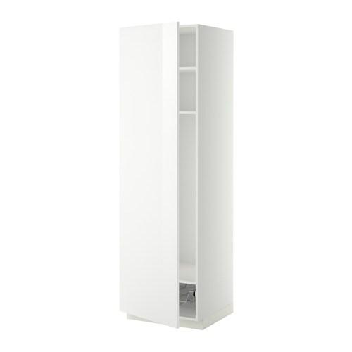 Metod armario alto cocina baldas y cesto ringhult alto for Ikea armarios cocina altos