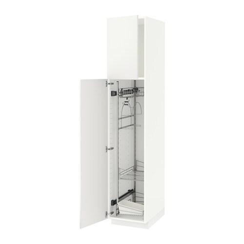 Artesanato De Jornal Como Pintar ~ METOD Armario alto para limpieza Häggeby blanco, 40x60x200 cm IKEA