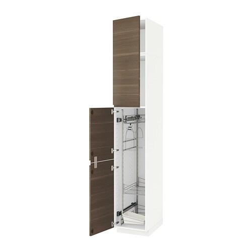 Armario Tok Stok Vai E Vem ~ METOD Armario alto para limpieza IKEA